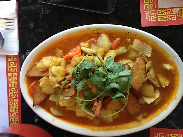 Vegetarian Vietnamese curry
